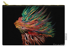 Abstract Lion's Head Carry-all Pouch