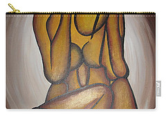 Abstract Lovers Carry-all Pouch