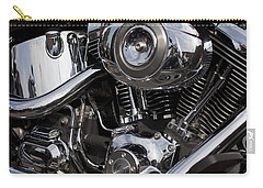 Abstract Motorcycle Engine Carry-all Pouch