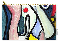 Abstract Mystery Carry-all Pouch by Stephen Lucas
