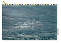 Carry-all Pouch featuring the photograph Abstract Of The Clouds by Gary Slawsky