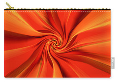 Abstract Orange Carry-all Pouch