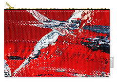 Abstract Original Artwork One Hundred Phoenixes Untitled Number Seven Carry-all Pouch