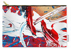 Abstract Original Artwork One Hundred Phoenixes Untitled Number Two Carry-all Pouch