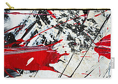 Abstract Original Painting Untitled Ten Carry-all Pouch
