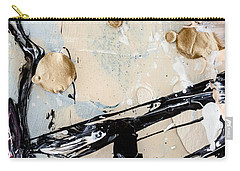Abstract Original Painting Untitled Twelve Carry-all Pouch