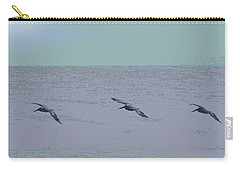 Abstract Pelican Trio Carry-all Pouch
