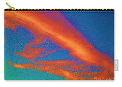 Abstract Red Blue And Green Sky Carry-all Pouch
