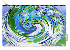 Abstract Reflections Digital Art #3 Carry-all Pouch by Robyn King