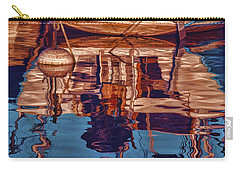 Abstract Reflections Carry-all Pouch by Muhie Kanawati