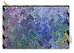 Abstract Reflections Carry-all Pouch by Robyn King