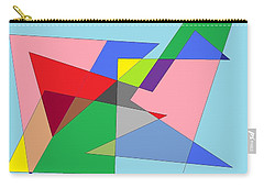 Abstract Carry-all Pouch by Ron Davidson