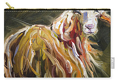 Abstract Sheep Carry-all Pouch