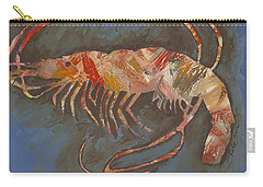 Abstract Shrimp Carry-all Pouch