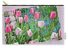 Abstract Spring Floral Fine Art Prints Carry-all Pouch