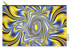 Abstract Spun Flower Carry-all Pouch