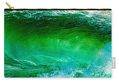 Abstract Wave 3 Carry-all Pouch