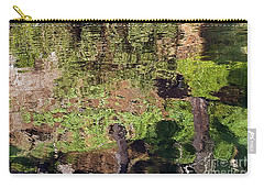 Carry-all Pouch featuring the photograph Abstracted Reflection by Kate Brown