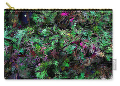 Carry-all Pouch featuring the digital art Abstraction 121514 by David Lane