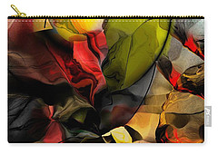 Abstraction 122614 Carry-all Pouch by David Lane