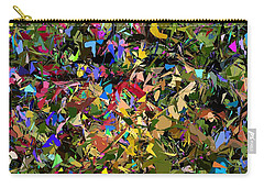 Abstraction 2 0211315 Carry-all Pouch by David Lane