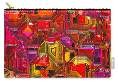 Abstractions... Carry-all Pouch by Tim Fillingim