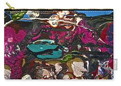 Abstracts 14 - Seascapes Carry-all Pouch by Mario Perron