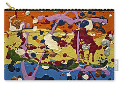 Abstracts 14 - The Circus Carry-all Pouch