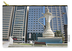 Carry-all Pouch featuring the photograph Abu Dhabi Al Ittihad Square by Steven Richman