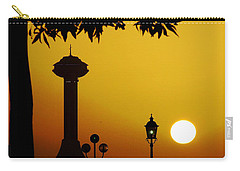 Carry-all Pouch featuring the photograph Abu Dhabi by Andrea Anderegg