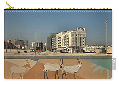 Abu Dhabi Outskirts Carry-all Pouch by Steven Richman