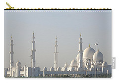 Abu Dhabi Sheikh Zayed Grand Mosque Carry-all Pouch by Steven Richman