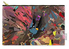 Carry-all Pouch featuring the digital art Abyss 2 by David Lane
