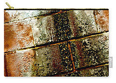 Carry-all Pouch featuring the photograph Acid Rain by Christiane Hellner-OBrien