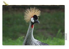 African Crowned Crane #3 Carry-all Pouch