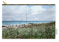 Carry-all Pouch featuring the photograph Across The Dunes At Hobe Sound by Judy Hall-Folde