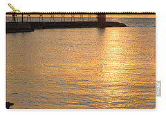 Across The Harbor Carry-all Pouch by Bill Pevlor