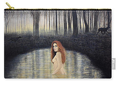 Actaeon And Artemis Carry-all Pouch