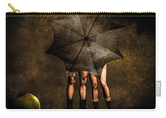 Adam And Eve Carry-all Pouch by Bob Orsillo