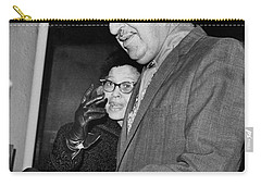 Adam Clayton Powell Retires Carry-all Pouch by Underwood Archives