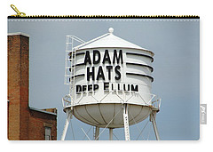 Carry-all Pouch featuring the photograph Adam Hats In Deep Ellum by Charlie and Norma Brock