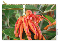 Carry-all Pouch featuring the photograph Adaptable Exotic by Cheryl Hoyle