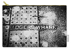 Carry-all Pouch featuring the photograph Adgers Wharf by Sennie Pierson