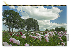 Adleman's Peony Fields Carry-all Pouch