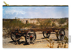 Carry-all Pouch featuring the photograph Adobe Memories by Judy Hall-Folde