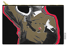 Adolf Hitler Saluting 2 Circa 1933-2009 Carry-all Pouch by David Lee Guss
