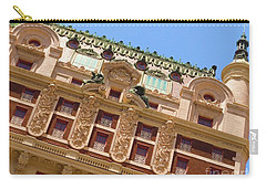 Carry-all Pouch featuring the photograph Adolphus Hotel - Dallas #1 by Robert ONeil