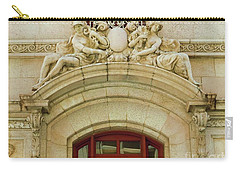 Carry-all Pouch featuring the photograph Adolphus Hotel - Dallas #4 by Robert ONeil