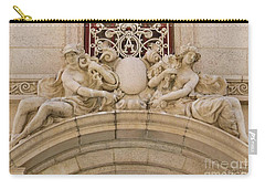 Carry-all Pouch featuring the photograph Adolphus Hotel - Dallas #5 by Robert ONeil