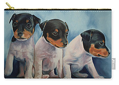 Adorable In Triplicate Carry-all Pouch